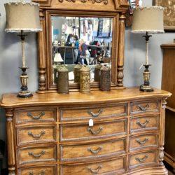 Gorgeous Lowboy Dresser with Mirror