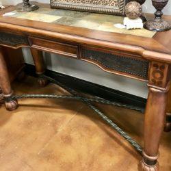 Wood & Stone Entry / Sofa Table