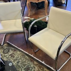 Room & Board Contemporary Leather Chairs - 3 Available