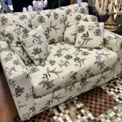 Custom Fabric Chair & 1/2