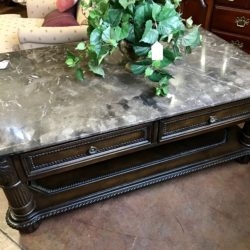 Horchow Granite Top Coffee Table