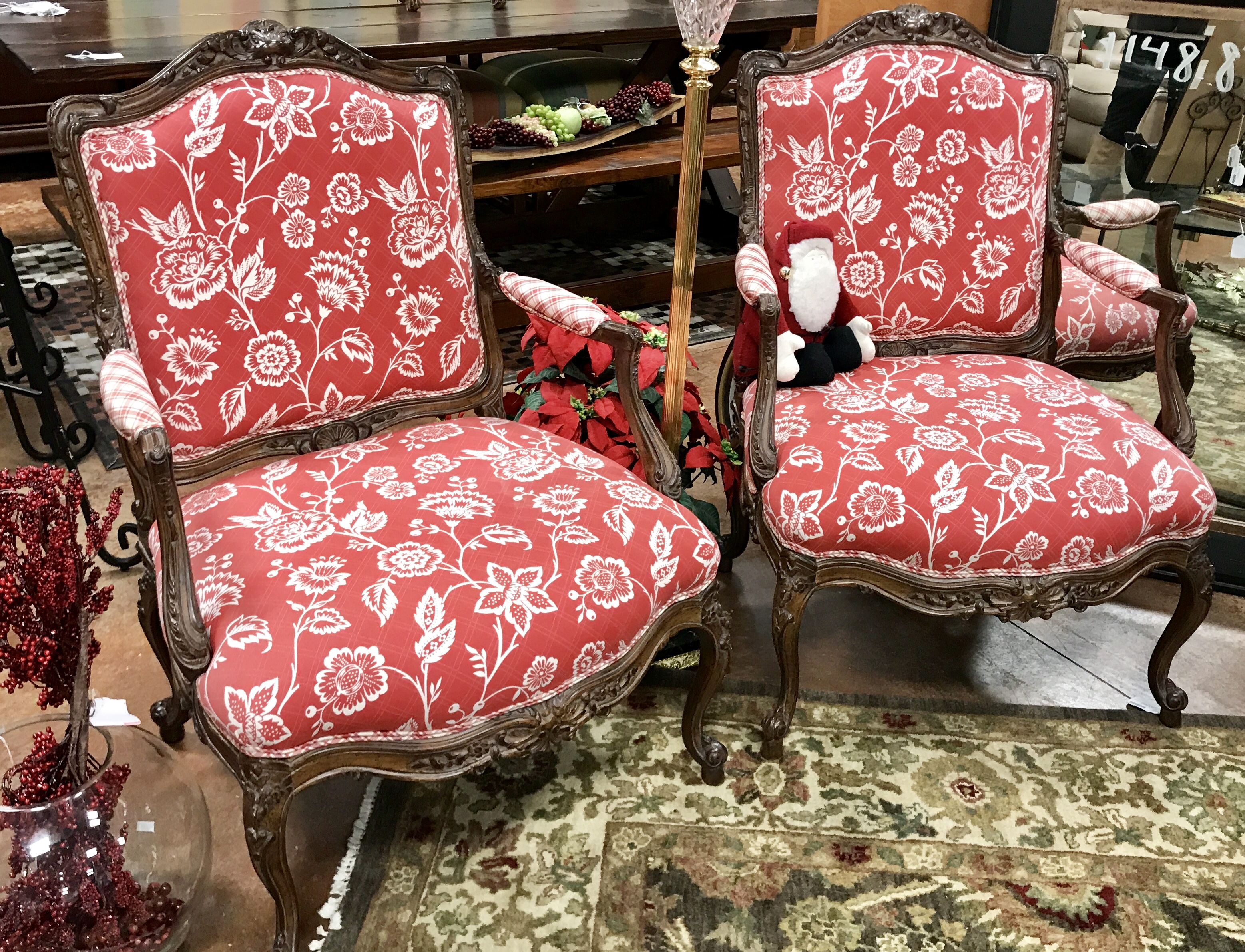Darling French Provincial Accent Chairs