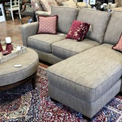 Thomasville Sofa / Chaise with Ottoman