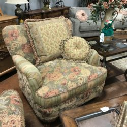 Floral Cottage Style Chair