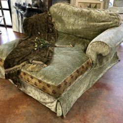 Down Filled Chaise Lounge
