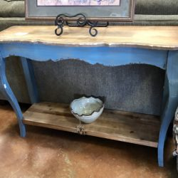 Shabby Chic Vintage Entry Table
