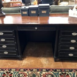 Aspen Home Black Desk/ Credenza