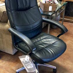 Samsonite Leather Swivel Office Chair
