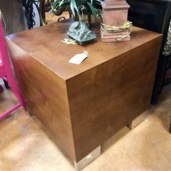 Modern Cube Side Table