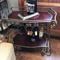 Iron Beverage Cart