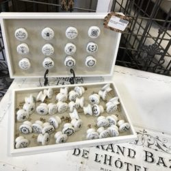 Shabby Chic Porcelain Drawer Knobs in Various Designs
