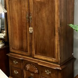 Vintage Footed Armoire