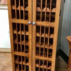 Wood Wine Storage Cabinets