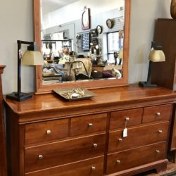 Low Boy Dresser with Mirror