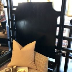 Thomasville Black 4 Poster Twin Bed Frame (2 Available)