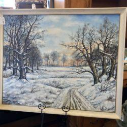 Original 2 Large Oil on Canvas Landscape Scenes