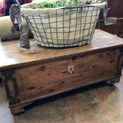 Vintage Cedar Chest on Casters