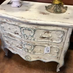 Vintage White Painted Nightstand