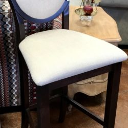 Renditions Linen Look Bar Stool