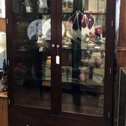 Stickley Lighted Curio Cabinet