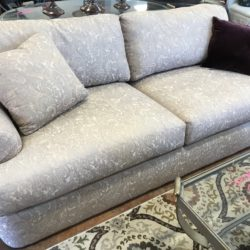 Paisley Sofa in Soft Colors