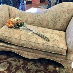 Custom Fabric Chaise Lounge
