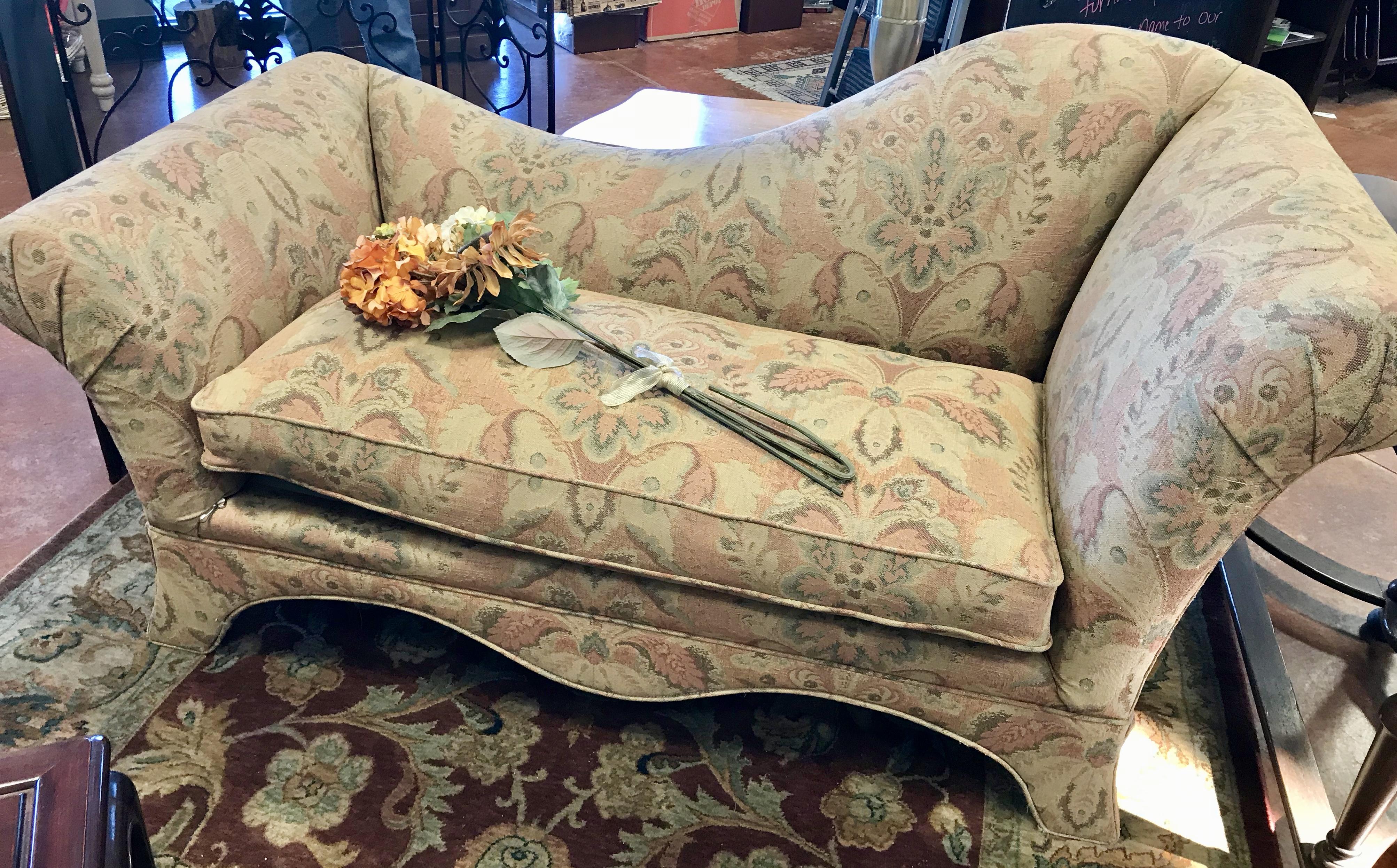 Custom Fabric Chaise Lounge