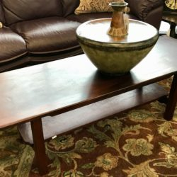Pasadena Craftsman Coffee Table
