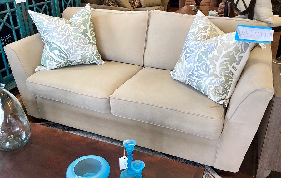 La-Z-Boy Cream Colored Sofa Sleeper with Blow Up Bed