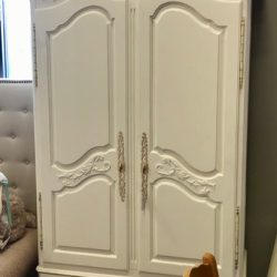 Ethan Allen White Painted Armoire