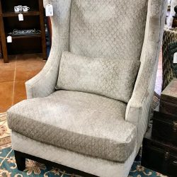 Quilted Wingback Chair