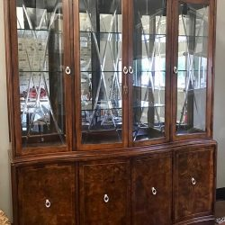 Thomasville Bogart Lighted China Hutch