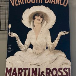 Martini & Rossi French Tapestry