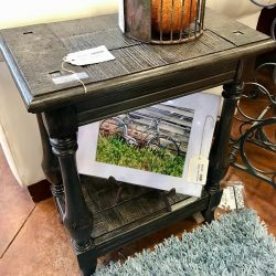 Uttermost Rustic Side Table