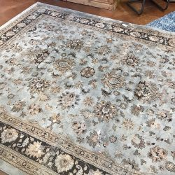 8 x 10 Couristan Rug in Blues and Browns